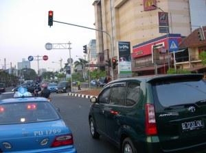 Putaran di Depan Senayan City